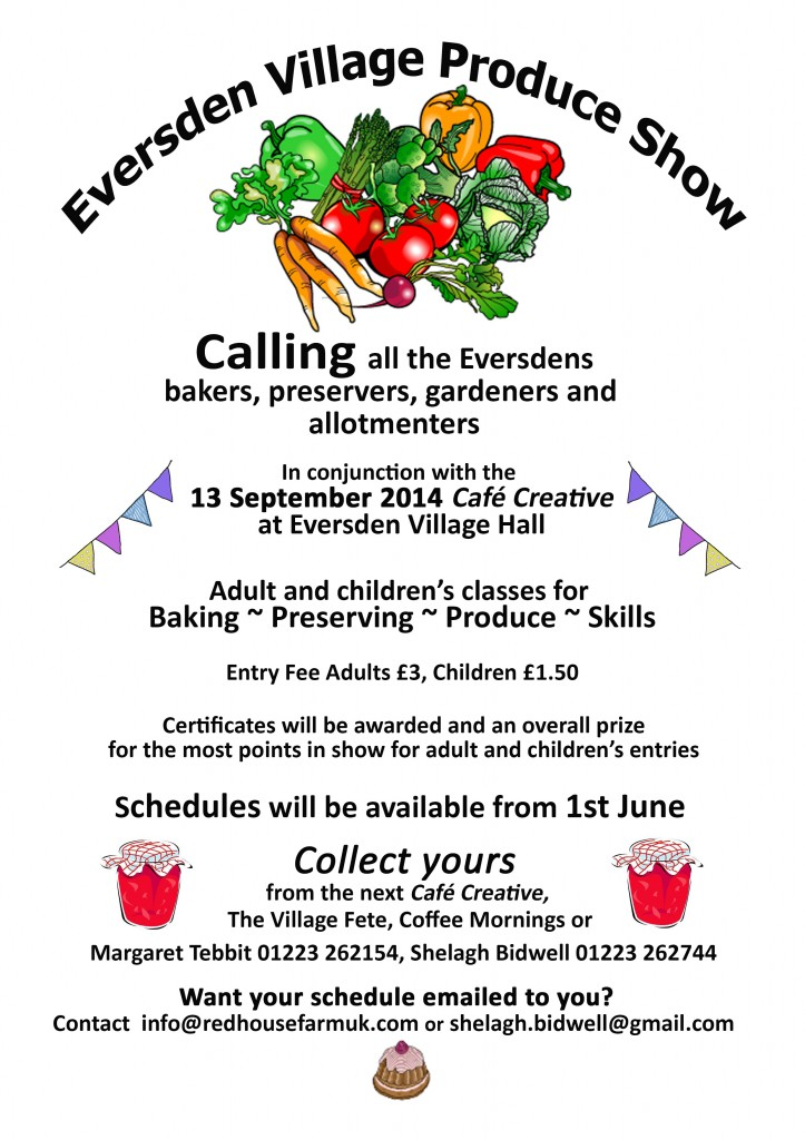 140609 Eversden Produce Show